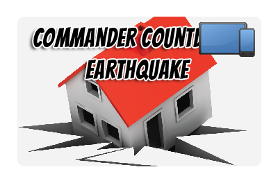 Commander Countdown: Earthquake