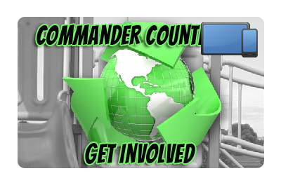 Commander Countdown: Get Involved